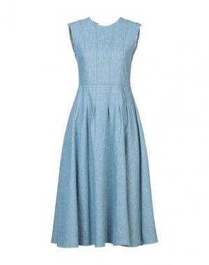Платье длиной 3/4 HAIKURE. Цвет: синий
