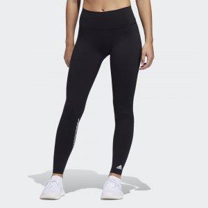 Леггинсы для фитнеса Believe This 2.0 Torch Long Performance adidas. Цвет: черный