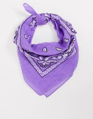 Бандана с принтом SVNX-Фиолетовый 7X