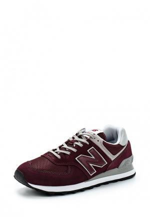 Кроссовки New Balance 574. Цвет: бордовый