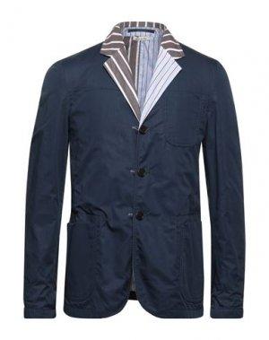 Пиджак MARNI. Цвет: темно-синий