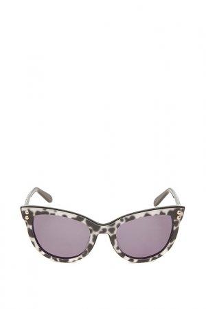 Очки солнцезащитные с линзами Moschino. Цвет: 05 белый
