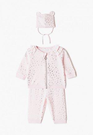 Комплект детский Choupette. Цвет: розовый