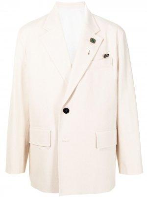 Однобортный пиджак SOLID HOMME. Цвет: нейтральные цвета