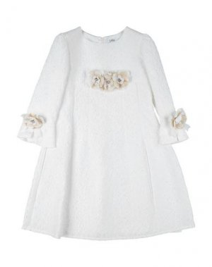 Платье LESY. Цвет: белый
