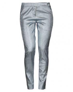 Повседневные брюки ATINSIGHT by ANDREA TURCHI. Цвет: небесно-голубой