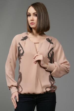 Блуза Anna Rita N. Цвет: розовый
