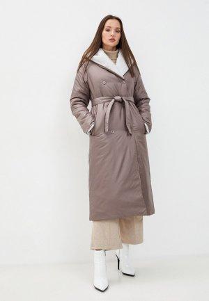 Куртка утепленная Doctor E. Цвет: коричневый