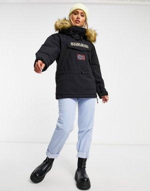 Черная куртка Skidoo 3-Черный Napapijri