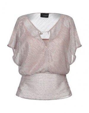 Блузка ATOS LOMBARDINI. Цвет: телесный