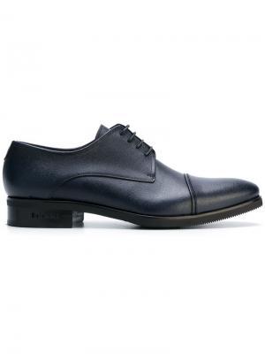 Классические ботинки Дерби Baldinini. Цвет: синий