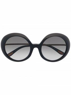 Солнцезащитные очки Jackie 60 Christian Roth. Цвет: черный