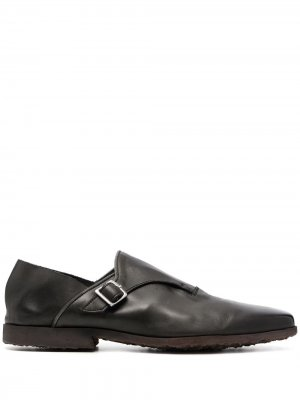 Туфли монки с пряжками Premiata. Цвет: черный