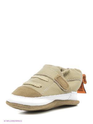 Ботиночки Shooshoos. Цвет: бежевый