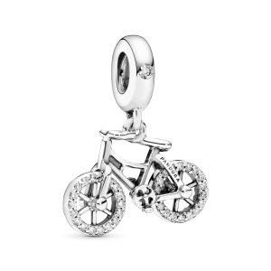 Подвеска Moments Сверкающий велосипед Pandora