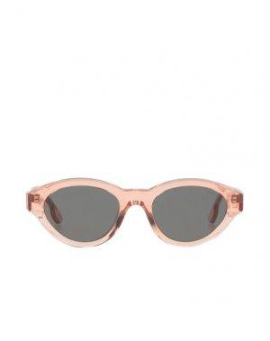 Солнечные очки KOMONO. Цвет: абрикосовый