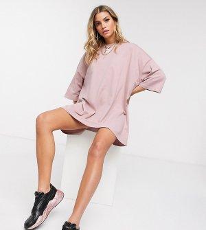Платье-футболка эксклюзивно ASOS-Розовый Puma