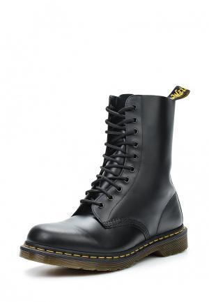Ботинки Dr. Martens 1490. Цвет: черный