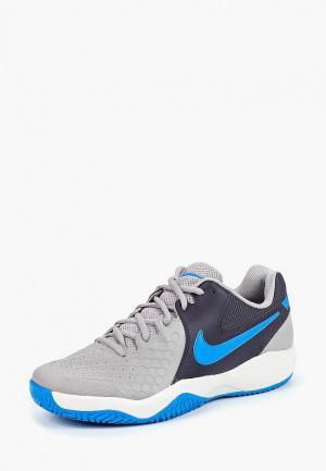 Кроссовки Nike Mens Air Zoom Resistance Tennis Shoe. Цвет: серый