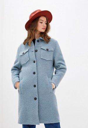 Пальто Closed. Цвет: голубой