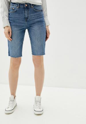Шорты джинсовые b.young. Цвет: синий