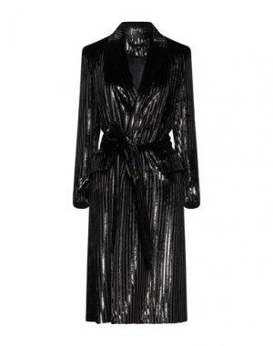 Пальто BABYLON. Цвет: черный