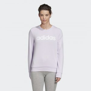 Джемпер Essentials Linear Performance adidas. Цвет: белый