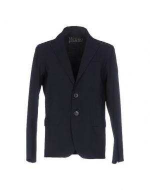 Пиджак HERNO. Цвет: темно-синий