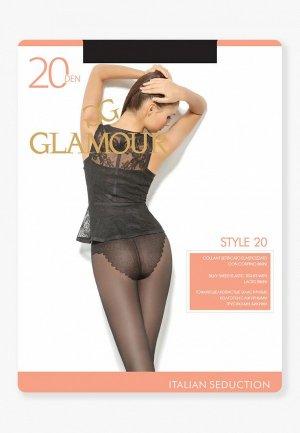 Колготки Glamour Style 20 DEN. Цвет: черный