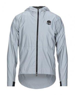 Куртка HYDROGEN. Цвет: серый