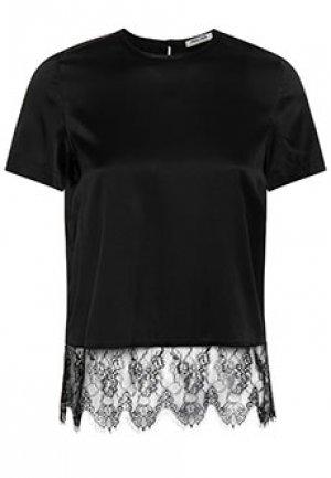 Блуза MAX&MOI. Цвет: черный