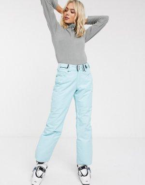 Голубые лыжные брюки Glow Surftex-Синий Surfanic