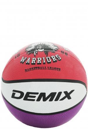 Мяч баскетбольный Demix. Цвет: красный