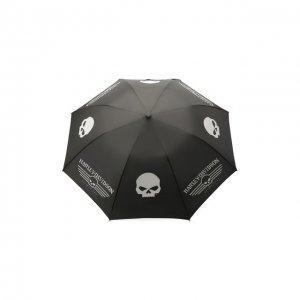 Складной зонт Harley-Davidson. Цвет: чёрный
