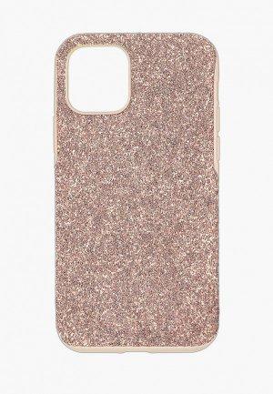 Чехол для iPhone Swarovski® 12 mini High. Цвет: розовый