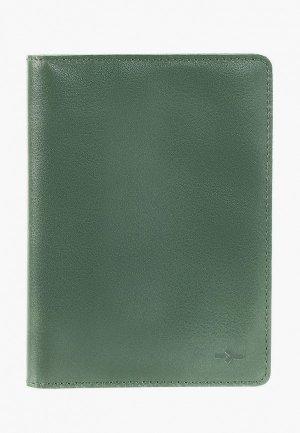 Обложка для документов Igor York. Цвет: зеленый
