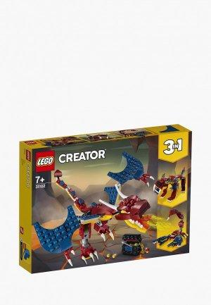 Конструктор LEGO Fire Dragon. Цвет: разноцветный