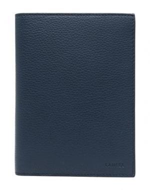 Бумажник LANCEL. Цвет: темно-синий