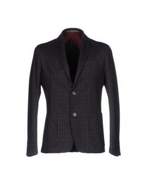 Пиджак JULIAN KEEN. Цвет: свинцово-серый