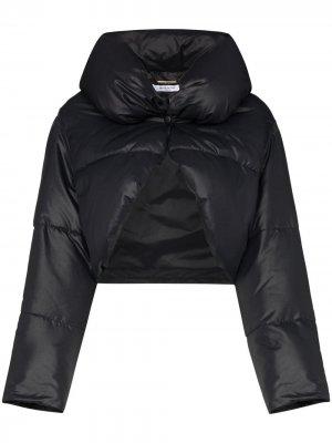 Пуховик-болеро Givenchy. Цвет: черный