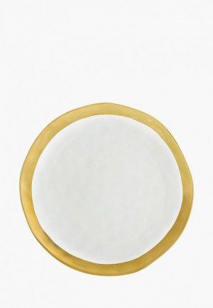 Блюдо сервировочное Elan Gallery. Цвет: белый
