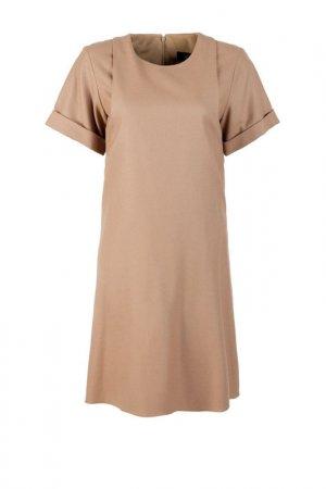 Платье Gucci. Цвет: бежевый
