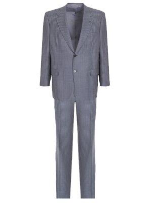 Классический костюм в полоску BRIONI