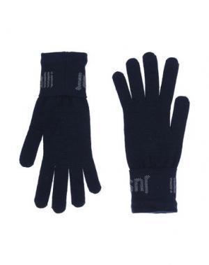 Перчатки JUST CAVALLI. Цвет: темно-синий
