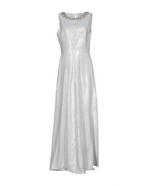 Длинное платье BLUGIRL BLUMARINE. Цвет: белый