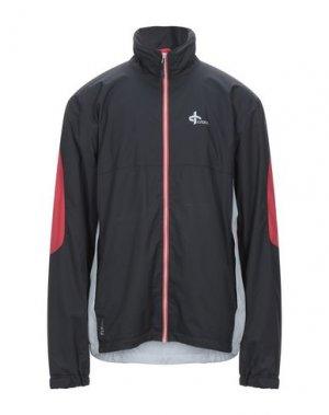 Куртка CROSS. Цвет: черный