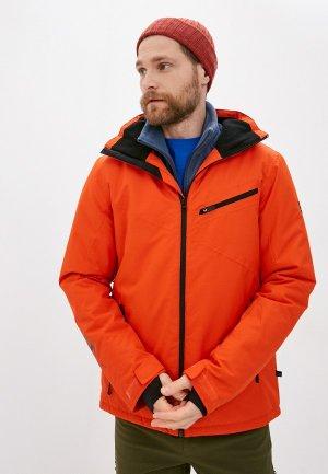 Куртка горнолыжная Brunotti. Цвет: красный