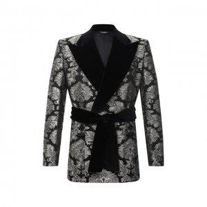 Пиджак Dolce & Gabbana. Цвет: серебряный