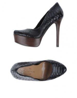 Туфли на платформе JESSICA SIMPSON. Цвет: черный