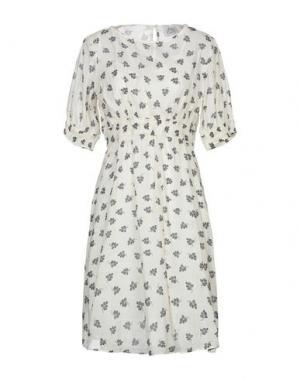 Короткое платье ATTIC AND BARN. Цвет: светло-желтый